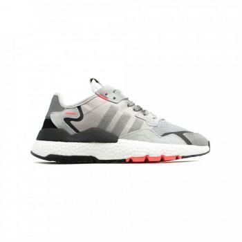 Кроссовки  Adidas Nite Jogger Grey-Red
