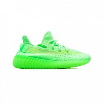 Кроссовки Adidas Yeezy Boost 350 V2 Glow in Dark Green