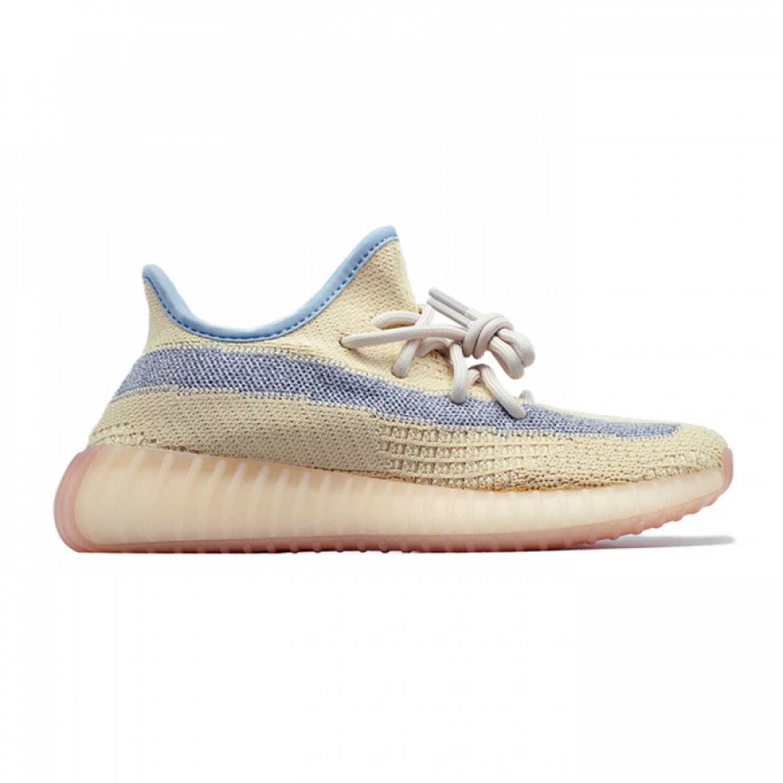 Кроссовки мужские  Adidas Yeezy Boost 350 V2 Linen Reflective