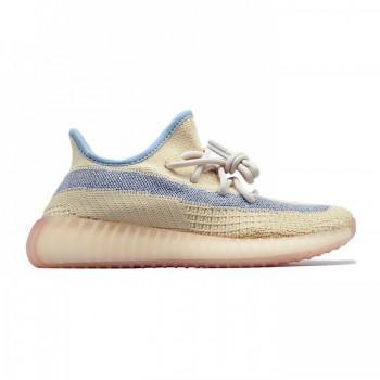 Кроссовки женские Adidas Yeezy 350 V2 Linen Reflective