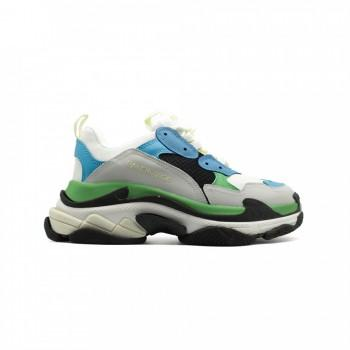 Кроссовки Balenciaga Triple S Blue-Grey-Green