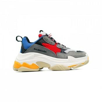 Кроссовки Balenciaga Triple S Multicolor Blue