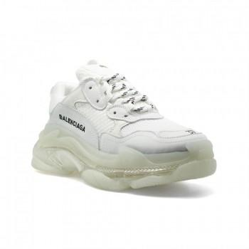 Кроссовки Balenciaga Triple S Transparent White