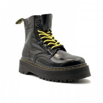 Женские ботинки Dr. Martens Jadon Patent Черные