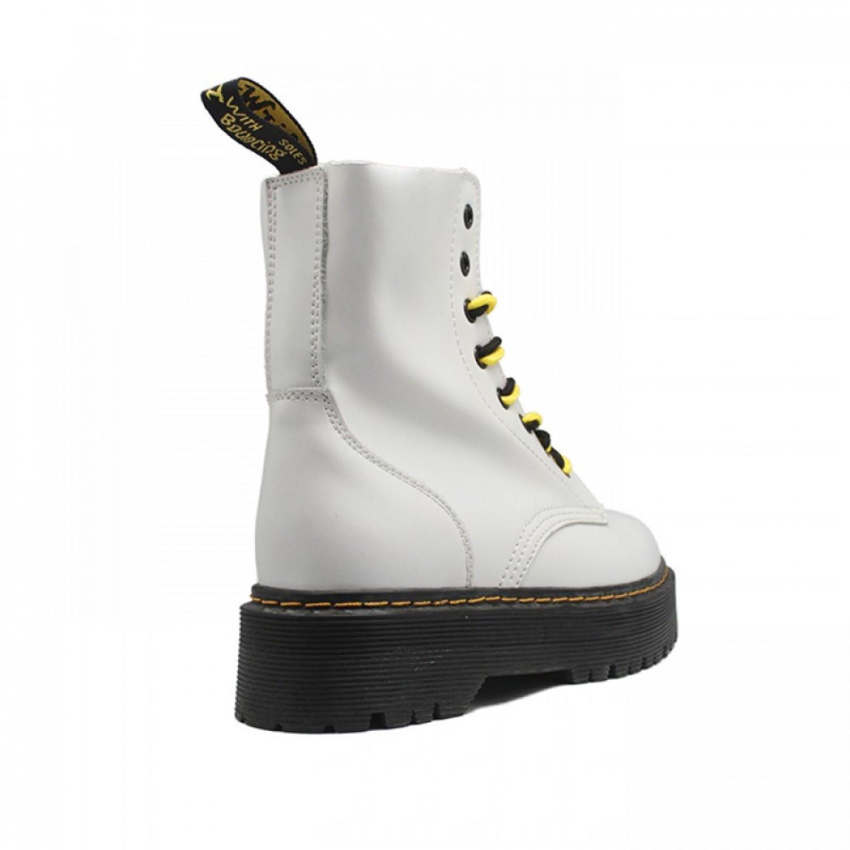 Women's Boots Dr. Martens White