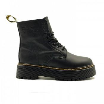 Ботинки Dr. Martens Jadon с мехом Черные