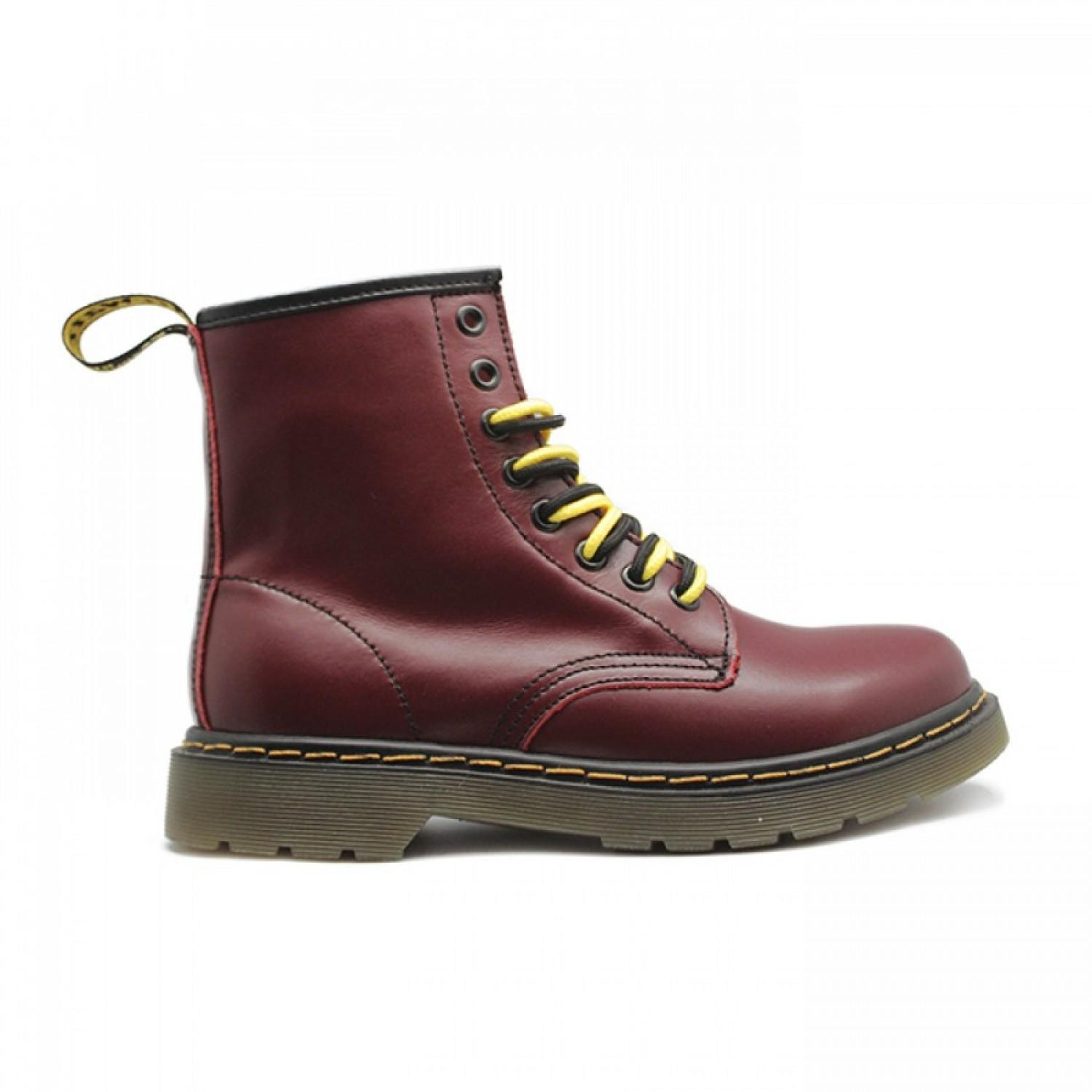 Women's  Winter Boots Dr. Martens Cherry Red