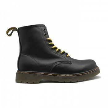 Мужские ботинки Dr. Martens с мехом Черные