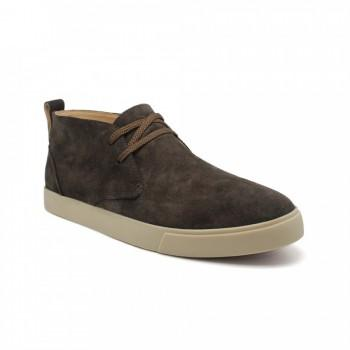 Ботинки Loro Piana  Lace Up Chocolate Suede