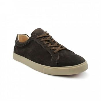 Кеды Loro Piana Freetime Walk Sneakers Chocolate Suede