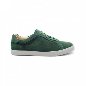 Кеды Loro Piana Freetime Walk Sneakers Green Suede