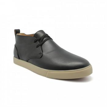 Ботинки Loro Piana Lace Up  Black Leather
