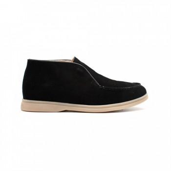 Ботинки Loro Piana Open Walk Black Suede