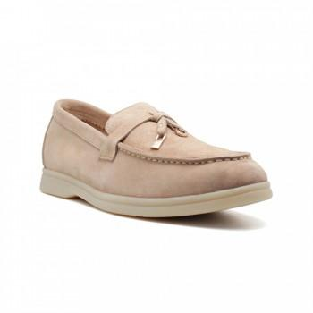 Лоферы Loro Piana Summer Walk Charms Sandstone
