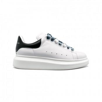 Кроссовки Alexander McQueen Luxe Leather White-Black