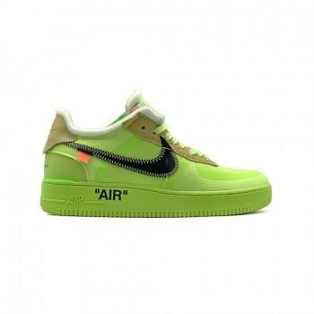 Кроссовки мужские Nike  Air Force 1 Low SE неоновые зеленые