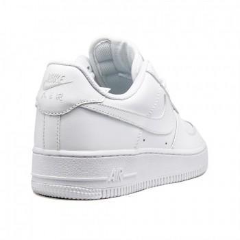 Кроссовки женские Nike Air Force 1 короткие Белые
