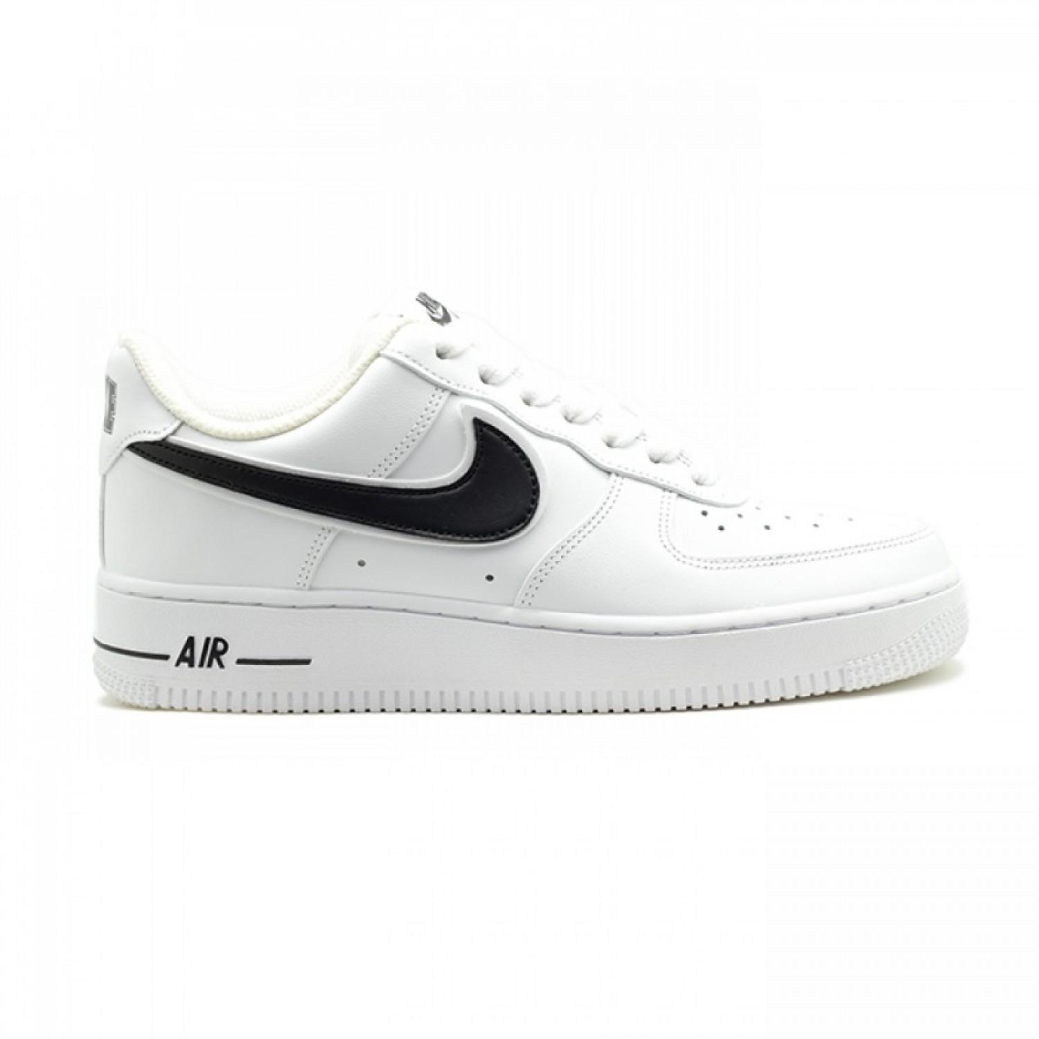 Кроссовки женские Nike Air Force AF-1 Low White - Black