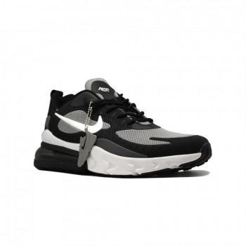 Кроссовки мужские Nike Air Max 270 React Black-Grey