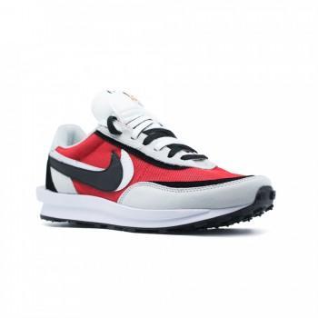 Кроссовки Nike LDV Waffle x Sacai White-Red
