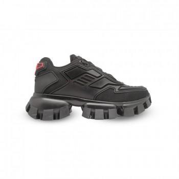 Кроссовки Prada Thunder Knit Черные