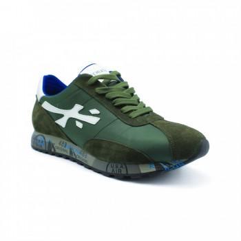 Кроссовки Premiata Hattori Sneakers Army Green