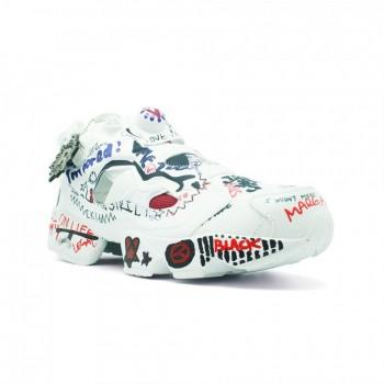 Кроссовки мужские Vetements x Reebok Insta Pump Fury Граффити