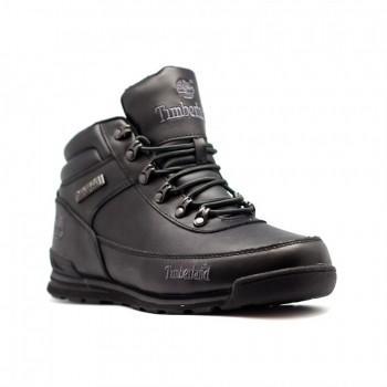 Мужские ботинки Timberland Euro Sprint Черные кожаные