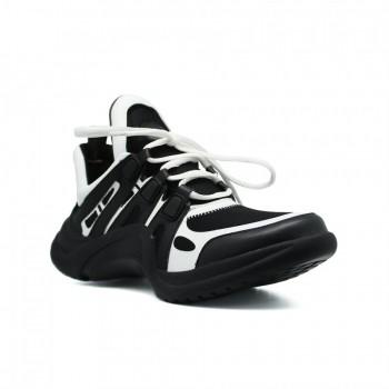 Кроссовки Louis Vuitton Archlight Sneakers Black-White