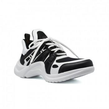 Кроссовки Louis Vuitton Archlight Sneakers White Black