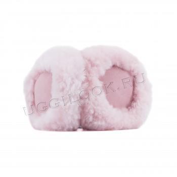 Меховые наушники Earmuff Розовые