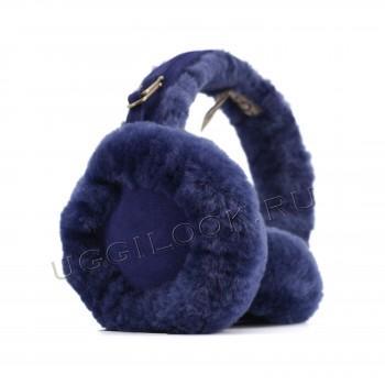 Меховые наушники Earmuff Синие