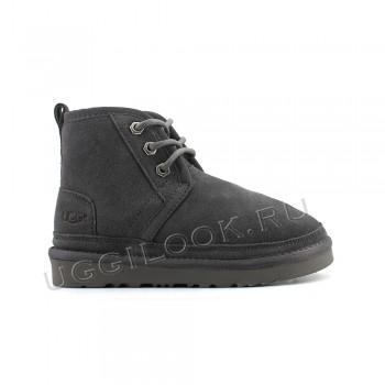 Ботинки детские на шнурках Neumel Серые
