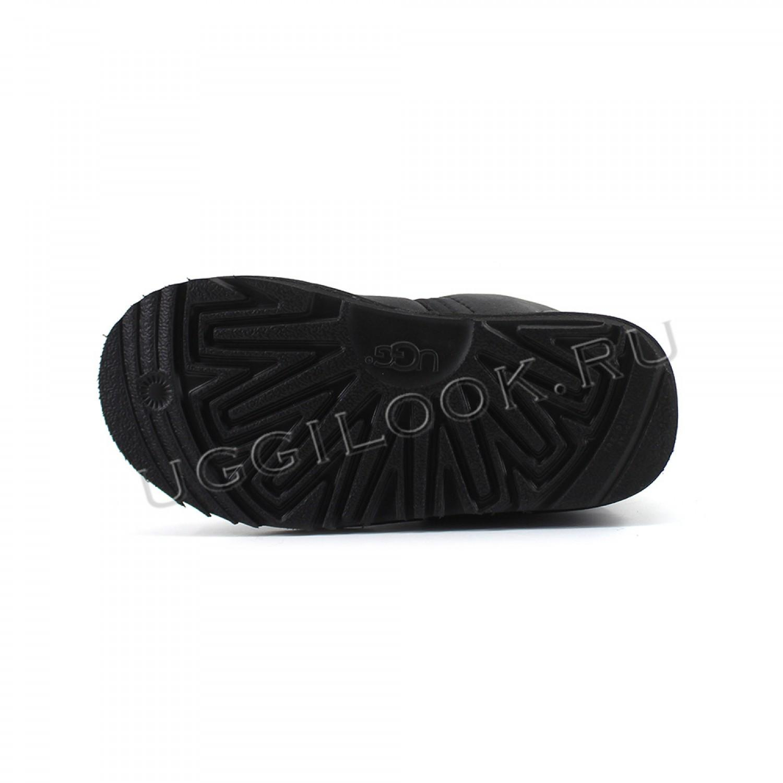Neumel II Boot for Kids Metallic Black
