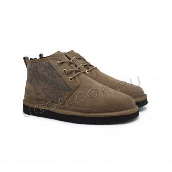 Мужские ботинки Neumel Graffiti Оливковые