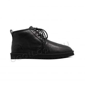 Мужские ботинки обливные Neumel Черные