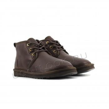 Мужские ботинки обливные Neumel Шоколад