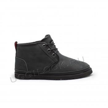 Мужские кожаные ботинки Neumel Waterproof Черные