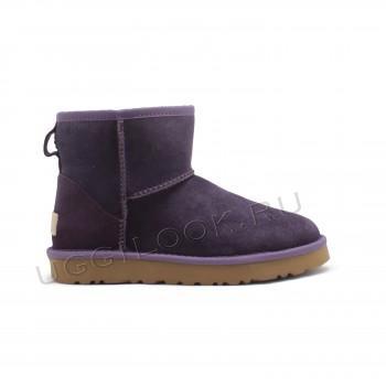 Угги мини непромокаемые Фиолетовые