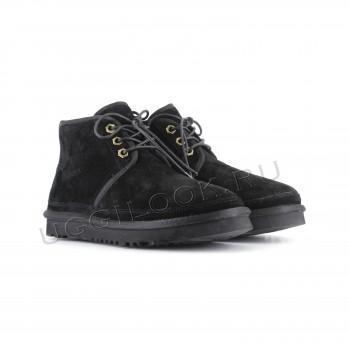 Женские ботинки UGG черные