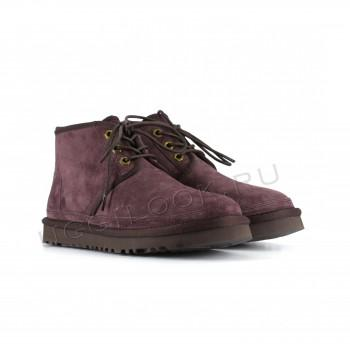 Женские ботинки UGG коричневые