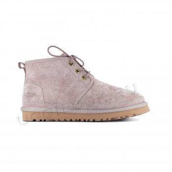 Женские ботинки UGG пудровые