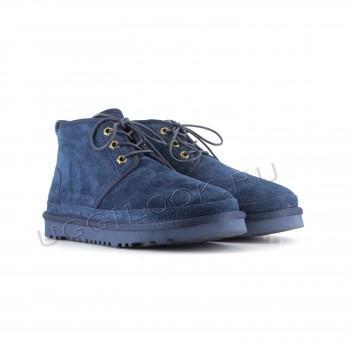 Женские ботинки UGG синие