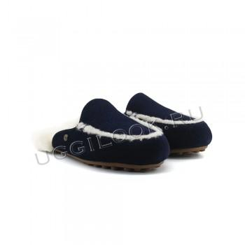 Женские меховые тапочки Lane Slip-On Loafer Синие