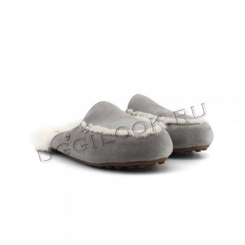 Женские меховые тапочки Lane Slip-On Loafer Серые