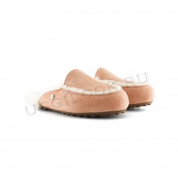 Женские меховые тапочки Lane Slip-On Loafer Рыжие