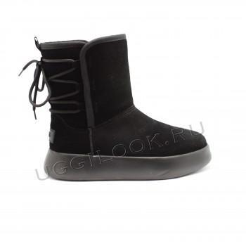 Угги женские Boom Boot Черные